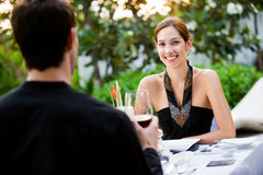 Couple Having Meal Royalty Free Stock Image