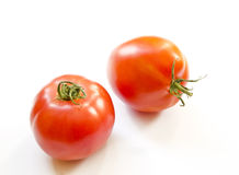 Couple of healthy tomatoes. Stock Photos