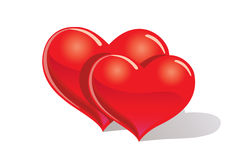 Couple heart Royalty Free Stock Image