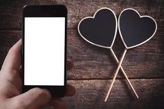 Couple heart shape Royalty Free Stock Photography