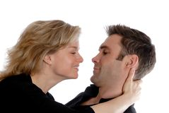 Couple holding Royalty Free Stock Photography