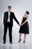 Couple Holding Hand Stock Photos