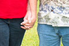 Couple Holding Hands Royalty Free Stock Photos