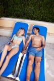 Couple Holiday Royalty Free Stock Photos