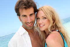 Couple on holidays Royalty Free Stock Photos