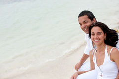 Couple on holidays Royalty Free Stock Image