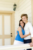 Couple at home Royalty Free Stock Image