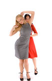Couple of hot ladies Royalty Free Stock Images