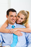 Couple hugging Stock Image