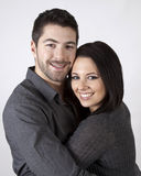 Couple Hugging. Royalty Free Stock Photography