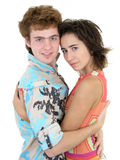 Couple hugging.  Stock Images