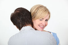 Free Couple Hugging Royalty Free Stock Photo - 29296375