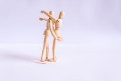 A couple hugging each other Stock Photo