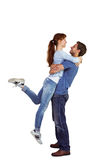 Couple hugging each other Royalty Free Stock Photos