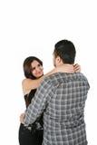 Couple hugging Stock Photos