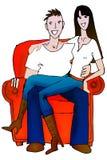 Couple illustration vector illustration