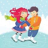 Couple royalty free illustration