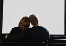 Free Couple In Cinema Royalty Free Stock Photos - 12809198