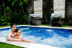 Free Couple In Pool Stock Photo - 13354150