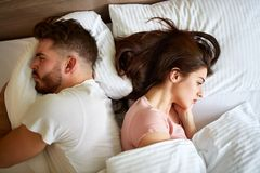 Free Couple In Quarrel Stock Photos - 131834293