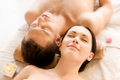 Free Couple In Spa Stock Images - 32104154