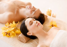 Free Couple In Spa Stock Image - 32104181