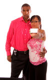 Couple Introducing Royalty Free Stock Photo