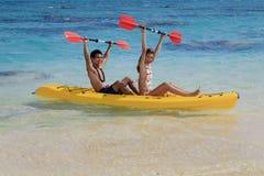 Free Couple Kayaking Stock Images - 13723024