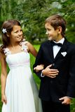 Couple of kids Royalty Free Stock Photo