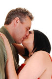 Couple kissing. Stock Photography