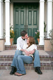 Couple Kissing Royalty Free Stock Images