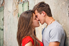 Free Couple Kissing Royalty Free Stock Photo - 25212245