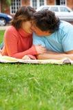 Couple kissing Royalty Free Stock Image