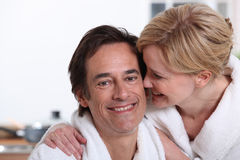 Couple laughing Stock Photos
