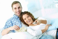Couple at leisure Stock Photography