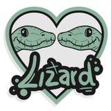 Couple lizard Stock Photos