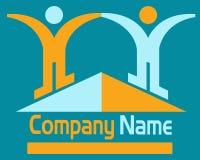 Couple logo Stock Photography