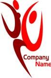 Couple logo Stock Image