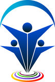 Couple logo vector illustration