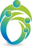 Couple logo Royalty Free Stock Images