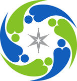 Couple logo Stock Photo