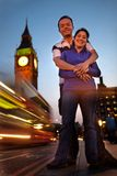 Couple in London Stock Photo