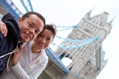 Couple in London Royalty Free Stock Photography