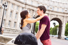 Couple in London Royalty Free Stock Images
