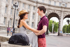 Couple in London Royalty Free Stock Photos