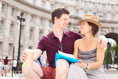 Couple in London Stock Images
