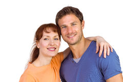 Couple looking at the camera Royalty Free Stock Images