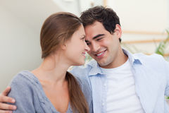 Couple looking at each other Royalty Free Stock Images
