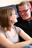 A Couple Looking at Each Other Royalty Free Stock Photography