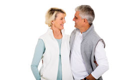 Couple looking each other Royalty Free Stock Image